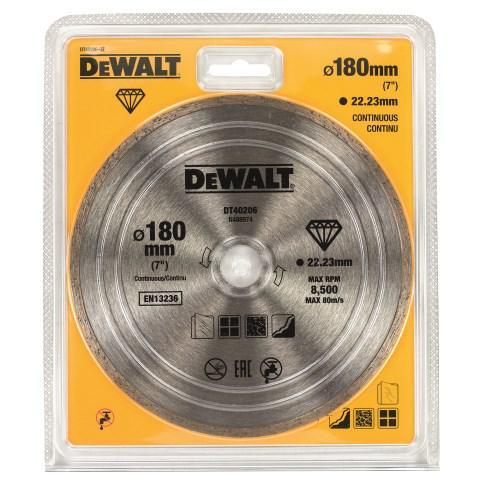Круг алмазный Dewalt Dt40206-qz