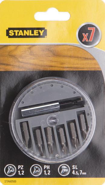 Набор бит Stanley Sta60500-xj цена
