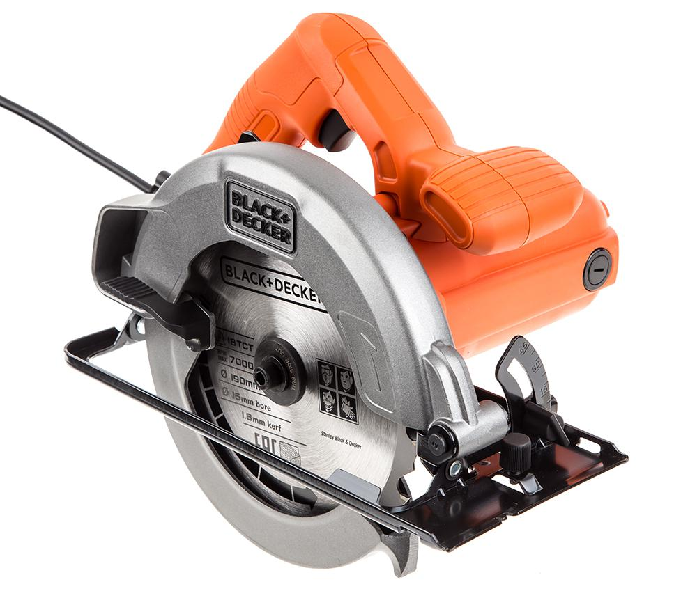 Пила циркулярная Black & decker Cs1004-ru циркулярная пила patriot cs 185