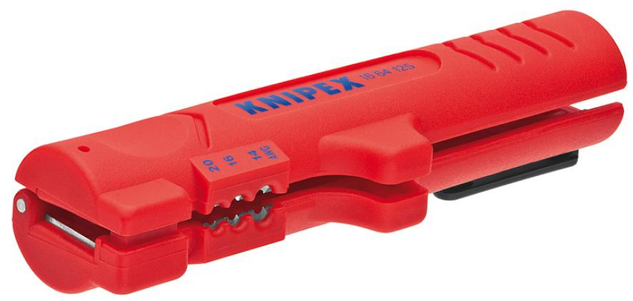 Стриппер Knipex Kn-1664125sb стриппер knipex kn 1221180