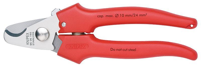 Ножницы Knipex Kn-9505165 электрические ножницы metabo kn 6875