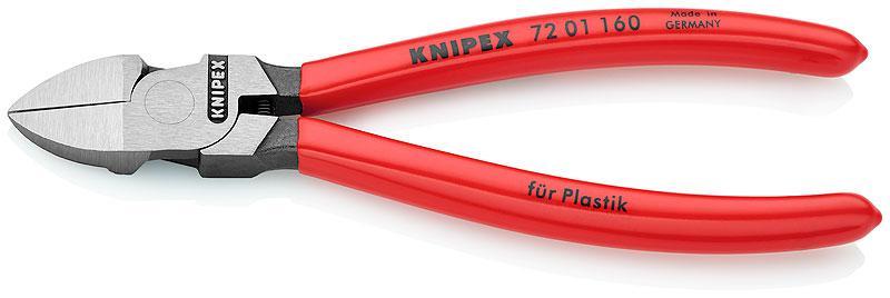 Кусачки Knipex Kn-7201160 бокорезы для пластмассы knipex kn 7201160