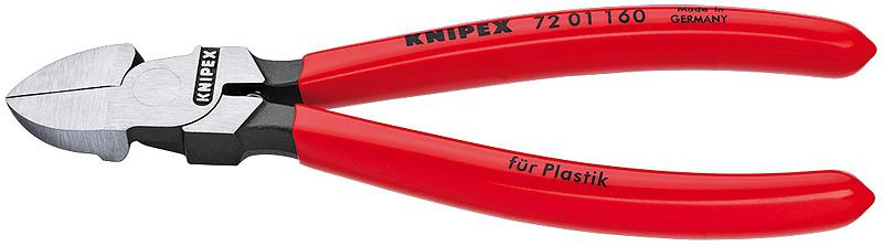 Кусачки Knipex Kn-7201140 knipex kn 7002140 диагональные кусачки для электромеханика blue red