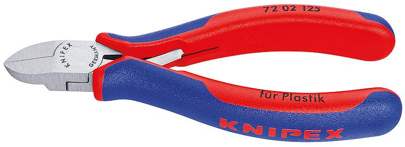 Кусачки Knipex Kn-7202125 knipex kn 7002140 диагональные кусачки для электромеханика blue red