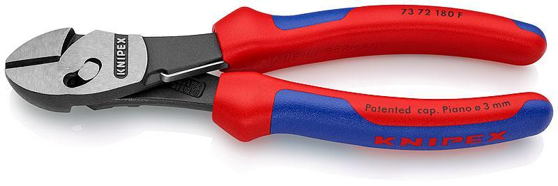 Кусачки Knipex Kn-7372180f knipex kn 7002140 диагональные кусачки для электромеханика blue red