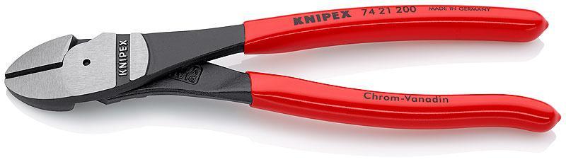 Кусачки Knipex Kn-7421200 knipex kn 7002140 диагональные кусачки для электромеханика blue red