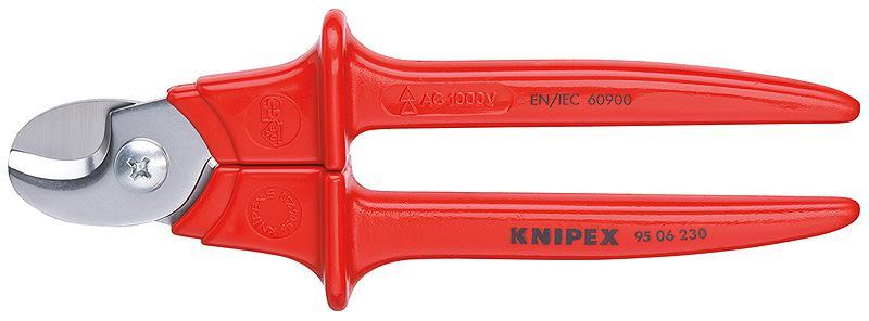 Ножницы Knipex Kn-9506230 электрические ножницы metabo kn 6875