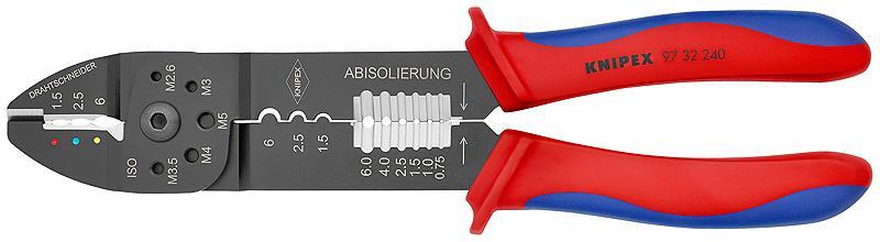 Клещи Knipex Kn-9732240 инструмент для снятия изоляции knipex kn 1250200