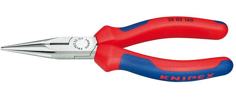 Круглогубцы Knipex Kn-2502140  прецизионные круглогубцы knipex kn 3432130esd