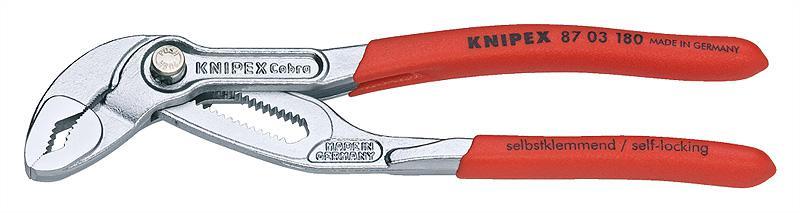 Ключ трубный переставной Knipex Kn-8703180 трубный ключ knipex kn 8330020