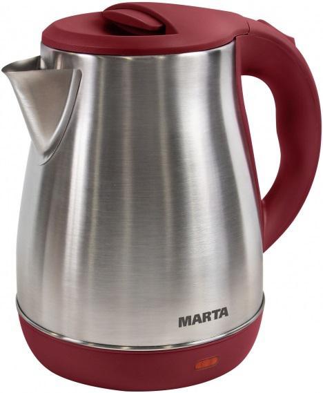 Чайник Marta Mt-1091 красный гранат