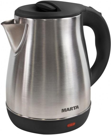 Чайник Marta Mt-1091 черный жемчуг