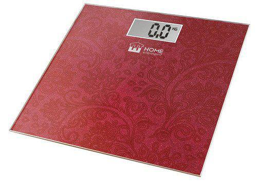 Весы напольные Home element He-sc904 бургунди