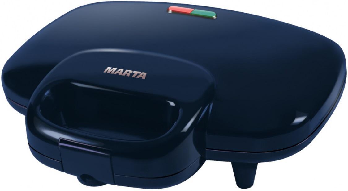 Бутербродница Marta Mt-1753 синий сапфир цена и фото