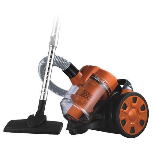 Пылесос Home element He-vc1802 черный/оранжевый