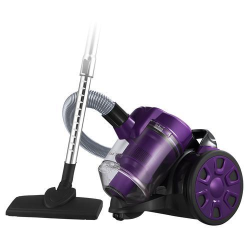 Пылесос Home element He-vc1802 черный/фиолетовый
