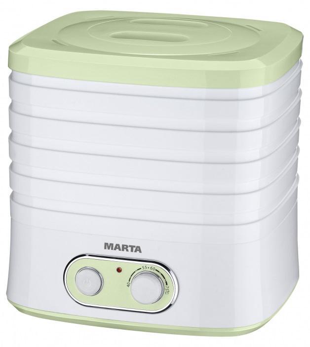 Сушилка для овощей Marta Mt-1945 зеленый нефрит