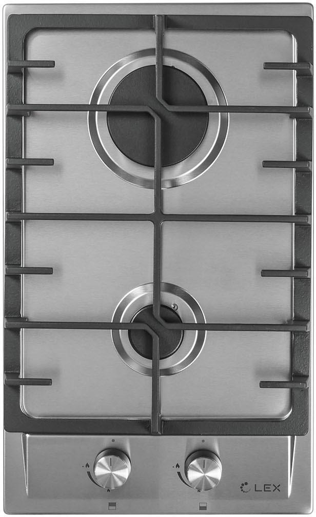Встраиваемая газовая варочная панель Gvs 321 inox Lex