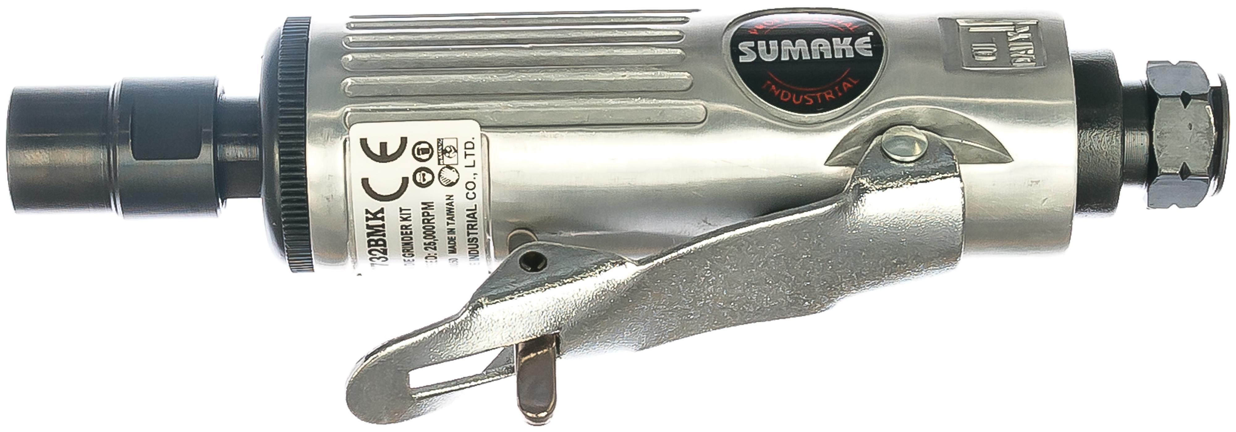 Машинка шлифовальная прямая пневматическая Sumake St-7732bmk пневмошлифовальная машина sumake st 7732 мк 27399