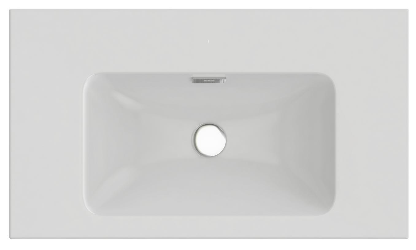 раковина на пьедестале sanita ромашка без отверстия под смеситель пьедестал в комплекте Раковина Jacob delafon Exaf112-z-00
