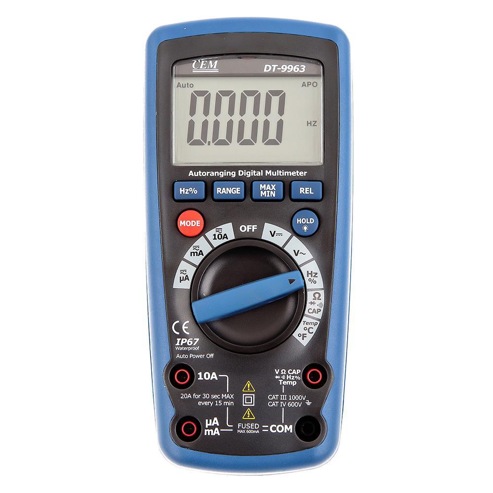 Мультиметр Cem Dt-9963 мультиметр cem dt 932n цифровой true rms