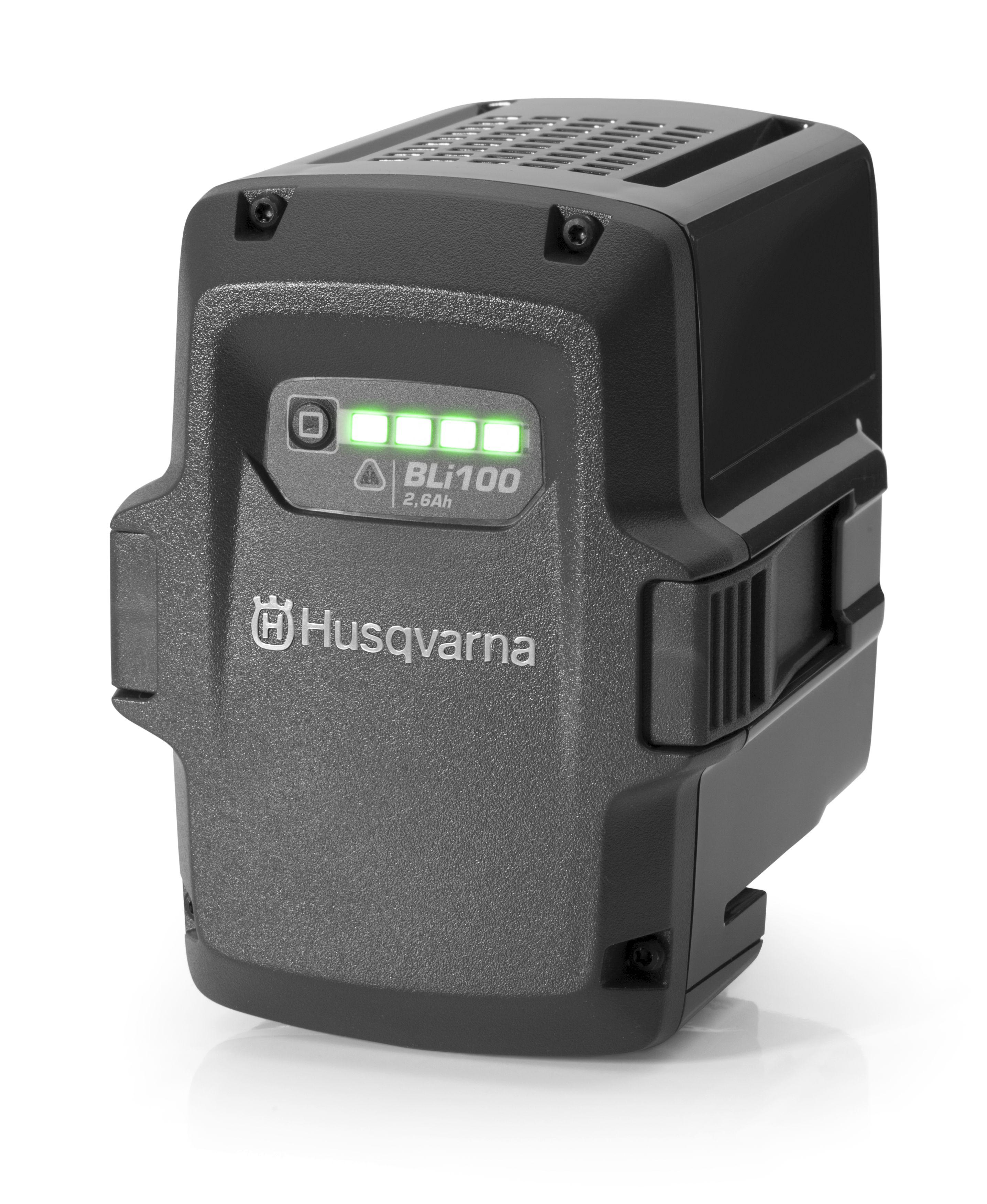 Аккумулятор Husqvarna Bli100 (9670918-01) аккумулятор husqvarna 9667760 01