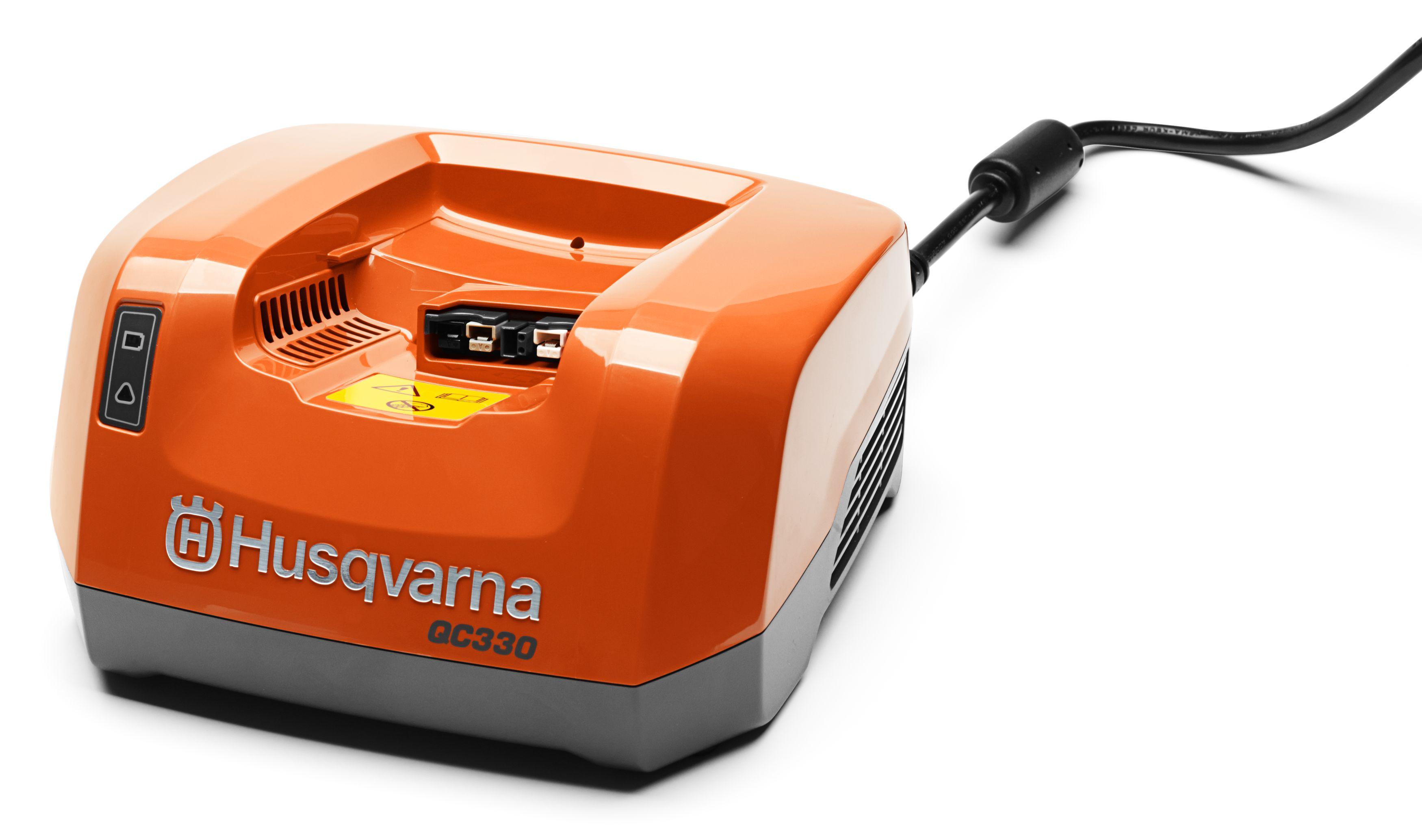 Зарядное устройство Husqvarna Qc330 (9670914-01) аккумулятор съемный husqvarna bli 200 9670919 01