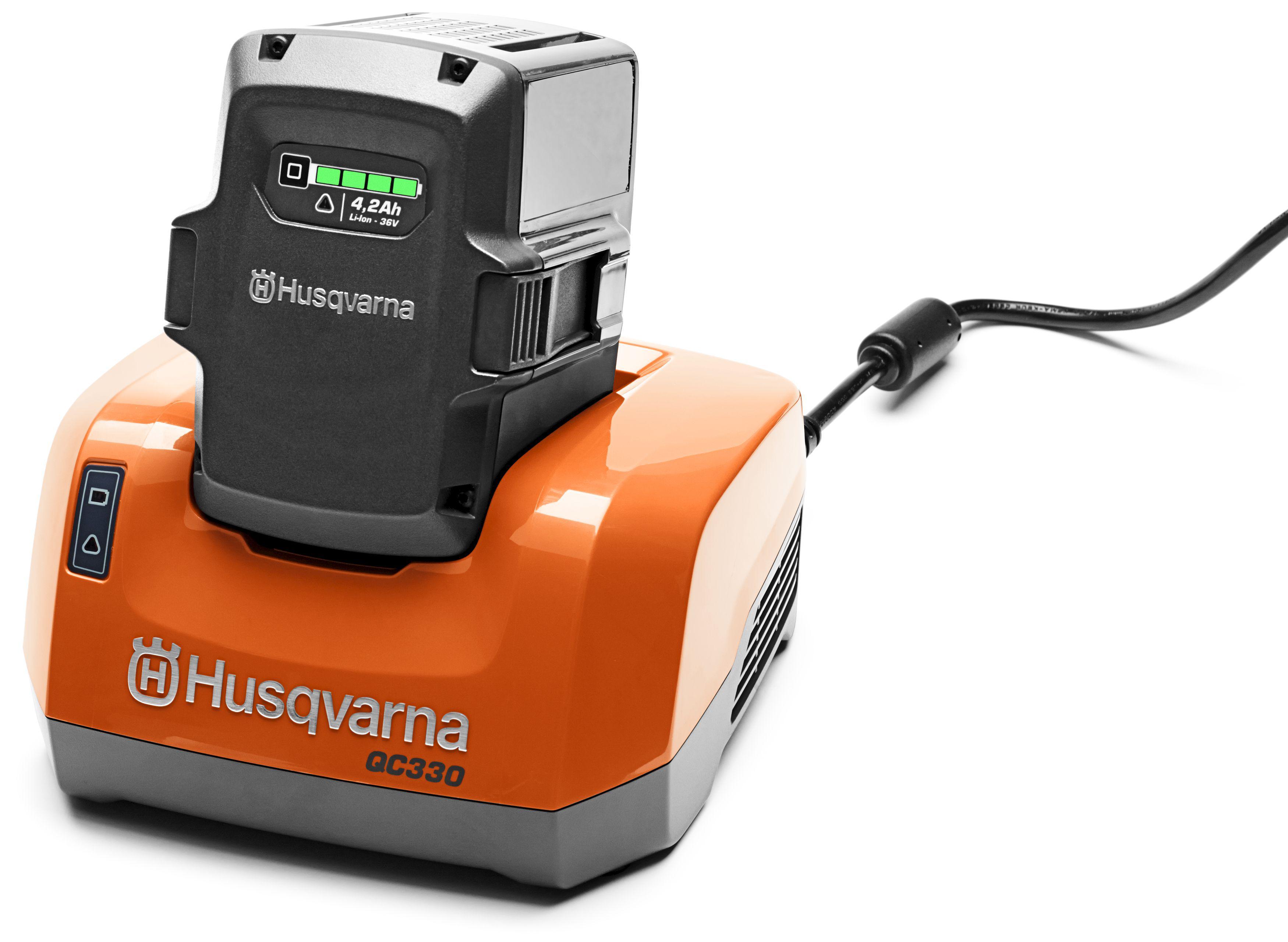 Зарядное устройство Husqvarna Qc330 (9670914-01)