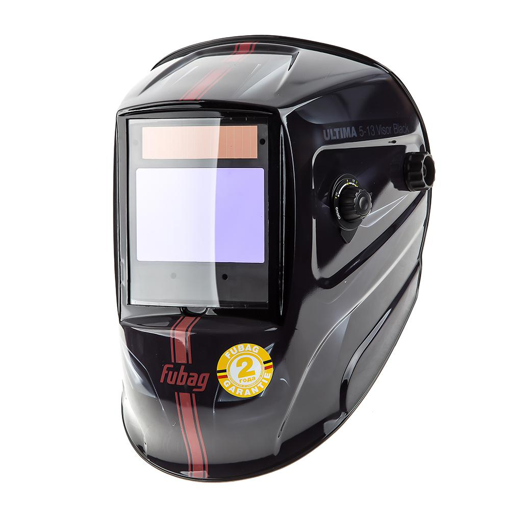 Маска Fubag Ultima 5-13 visor black маска сварщика fubag ultima 5 13 panoramic black 992500