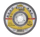Круг зачистной KLINGSPOR 125х6х22мм 14А упак.10шт
