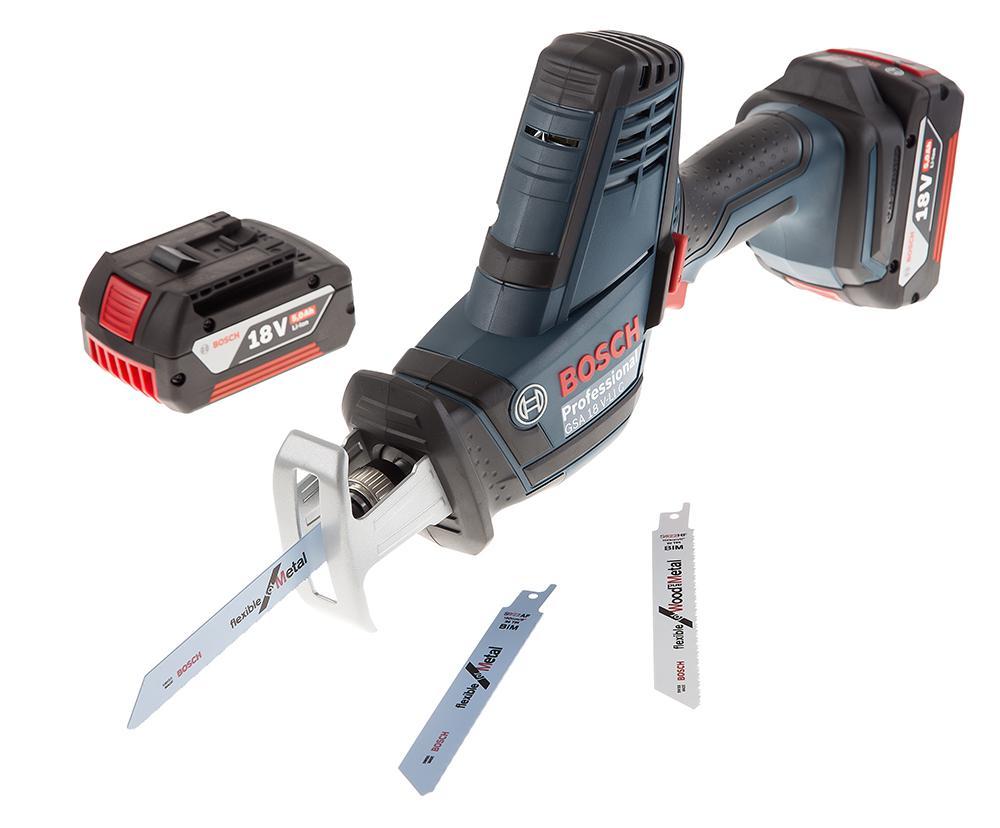 Ножовка Bosch Gsa 18v-li c (0.601.6a5.002) набор bosch ножовка gsa 18v 32 0 601 6a8 102 адаптер gaa 18v 24