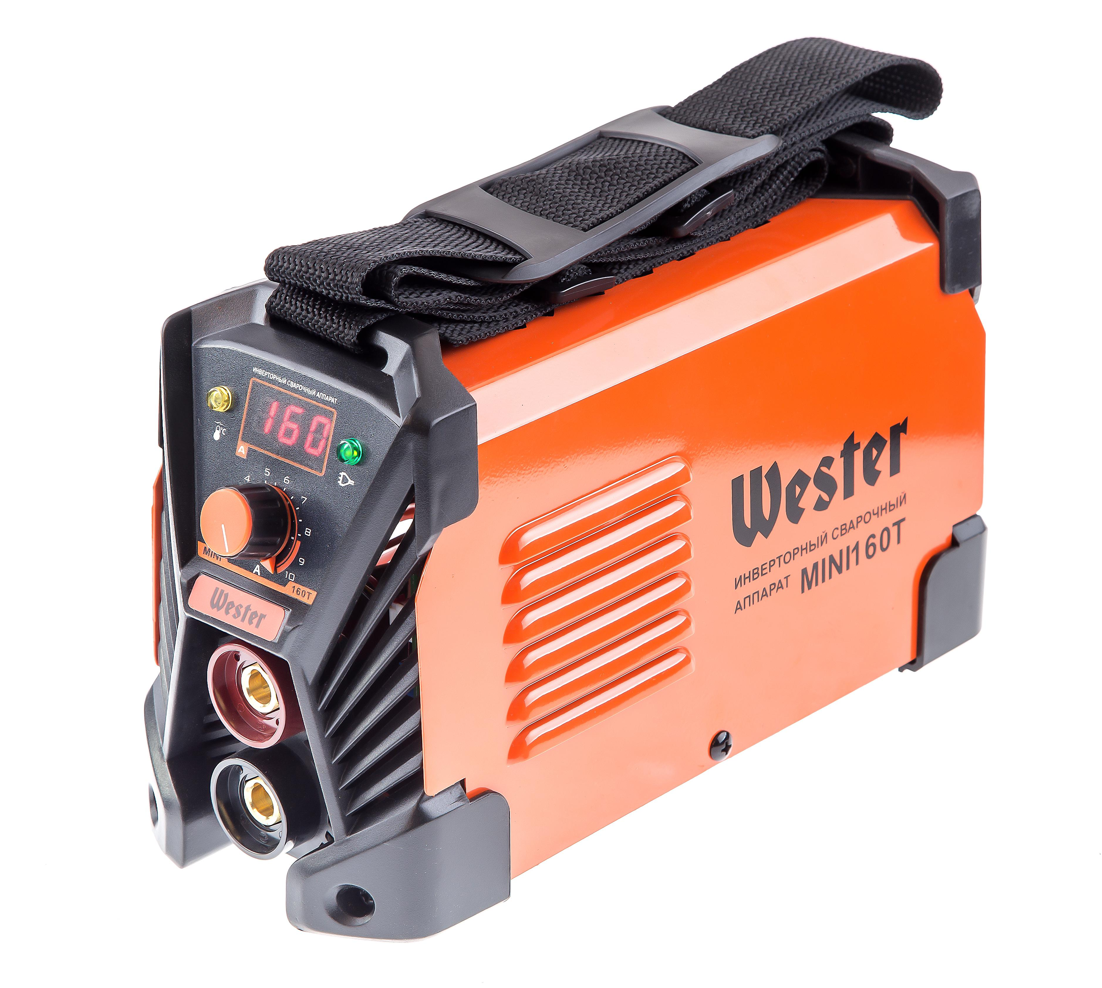 Сварочный аппарат Wester Mini 160Т электроды для сварки wester ано 4 3 0мм 1кг