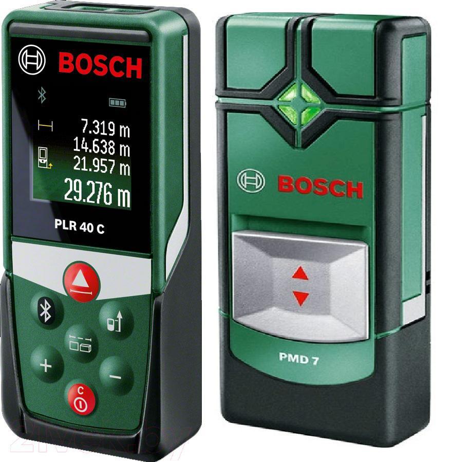 Набор Bosch Plr 40 С (0.603.672.320) + Детектор pmd7 цена 2017
