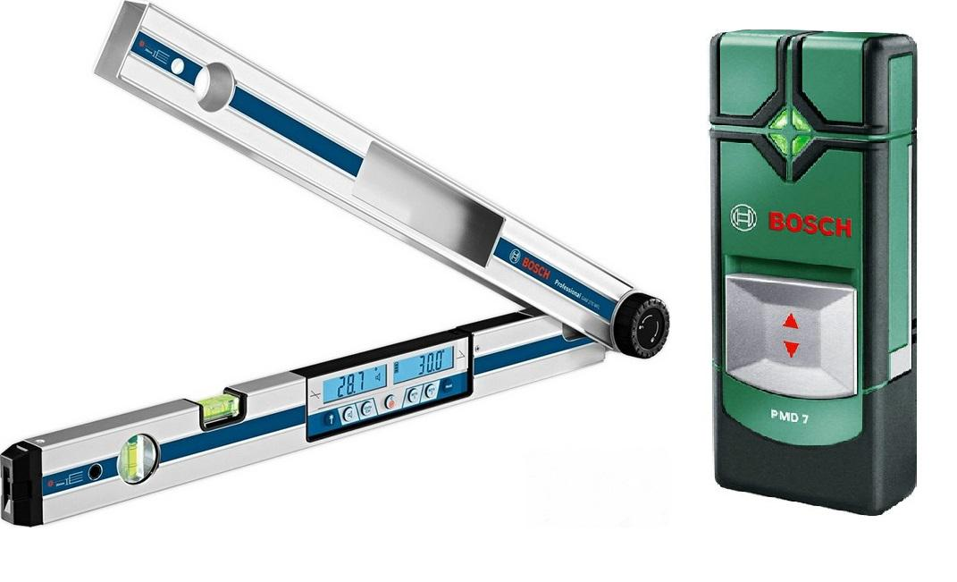 Угломер Bosch Gam 270 mfl (0.601.076.400) + Детектор pmd7 цена 2017