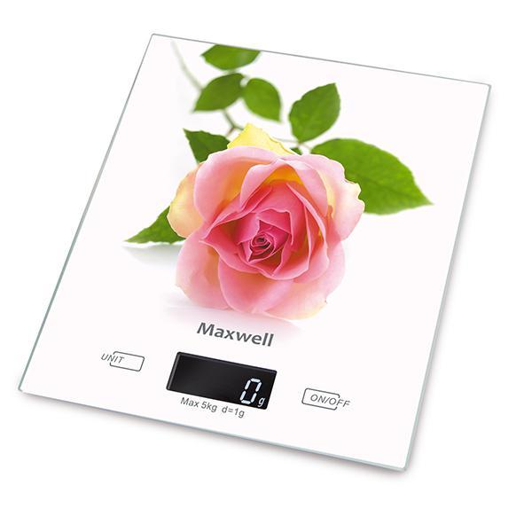Фото. Весы кухонные Maxwell Mw-1476w