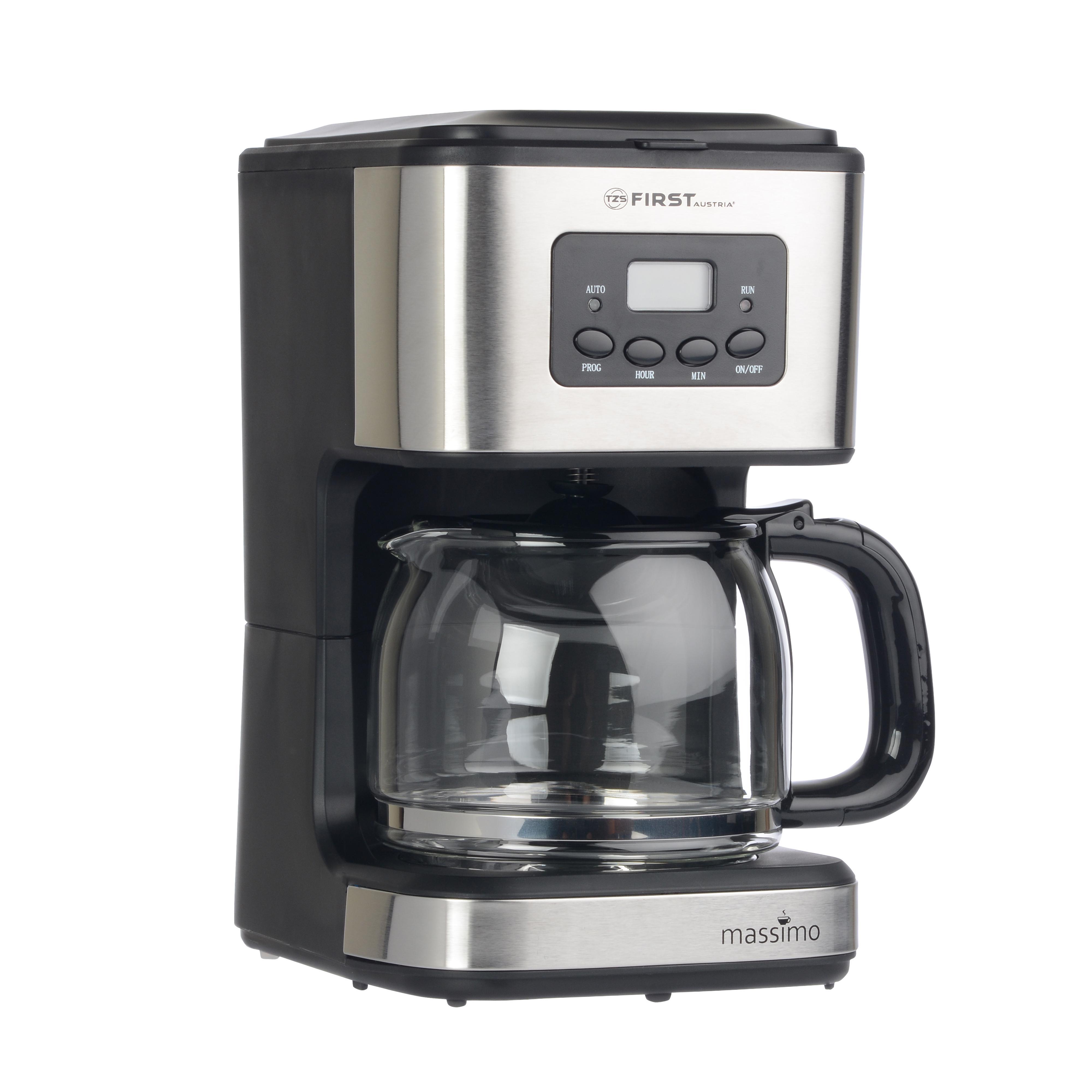 Кофеварка First Fa-5476-1 black кофеварка рожковая redmond rcm 1502