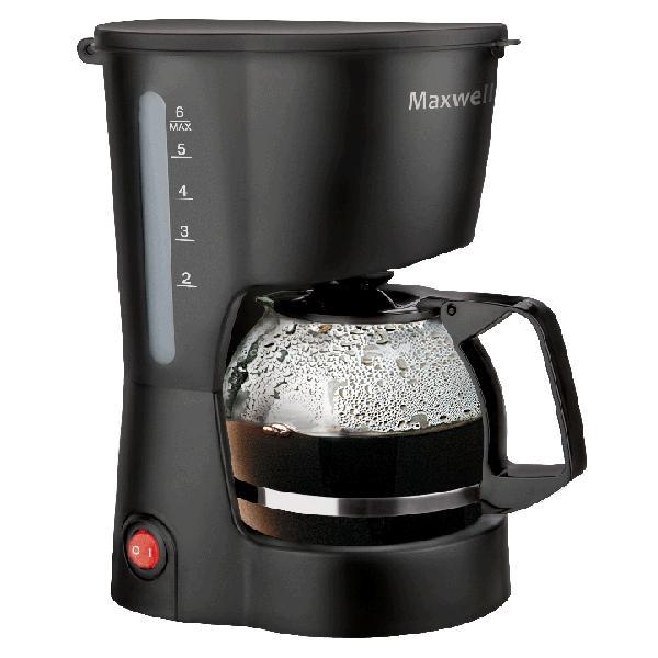 Кофеварка Maxwell Mw-1657(bk) неспрессо кофемашины в москве
