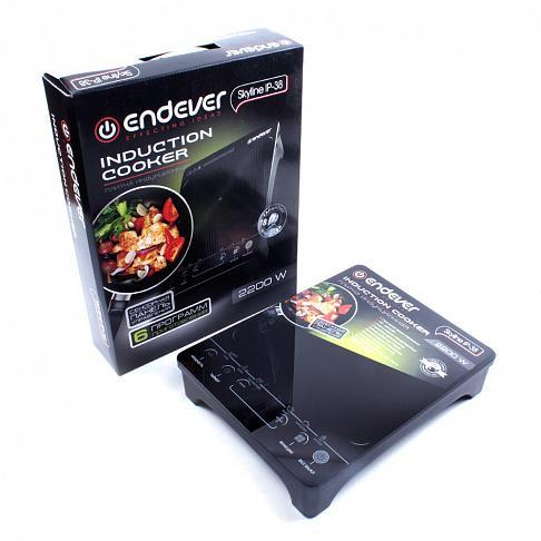 Плита электрическая Endever Ip-38 электрическая плита endever ip 28 закаленное стекло индукционная черный [80033]