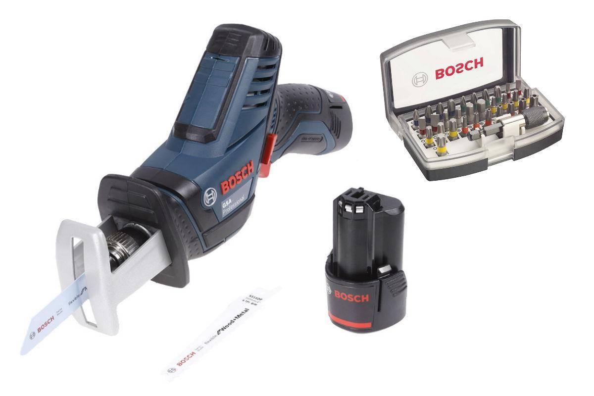 Набор Bosch Ножовка gsa 10,8 v-li (0.601.64l.972),Набор бит 2.607.017.319 набор bosch ножовка gsa 18v 32 0 601 6a8 102 адаптер gaa 18v 24