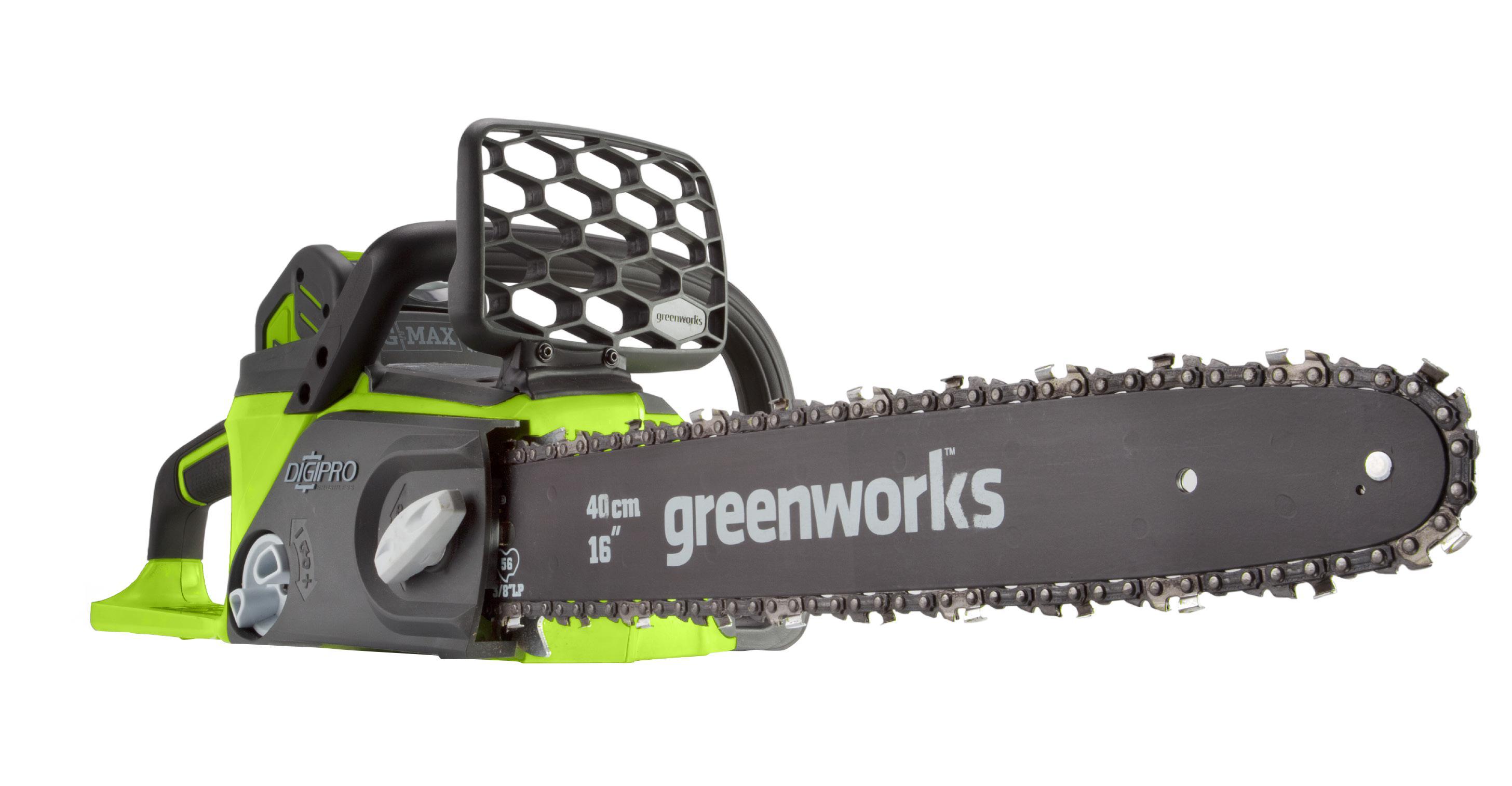 Пила цепная аккумуляторная Greenworks Gd40cs40k2 (20077ua) 1акк 40В 4Ач + ЗУ