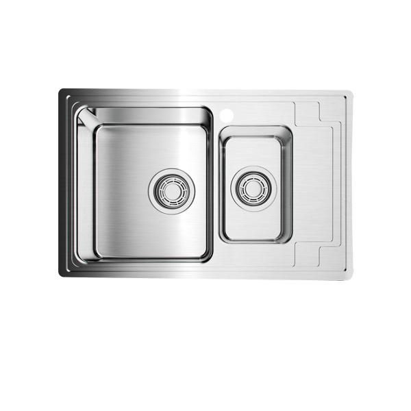Мойка кухонная Omoikiri Mizu 78-2-l 4973012 смеситель для кухонной мойки bliss l am pm