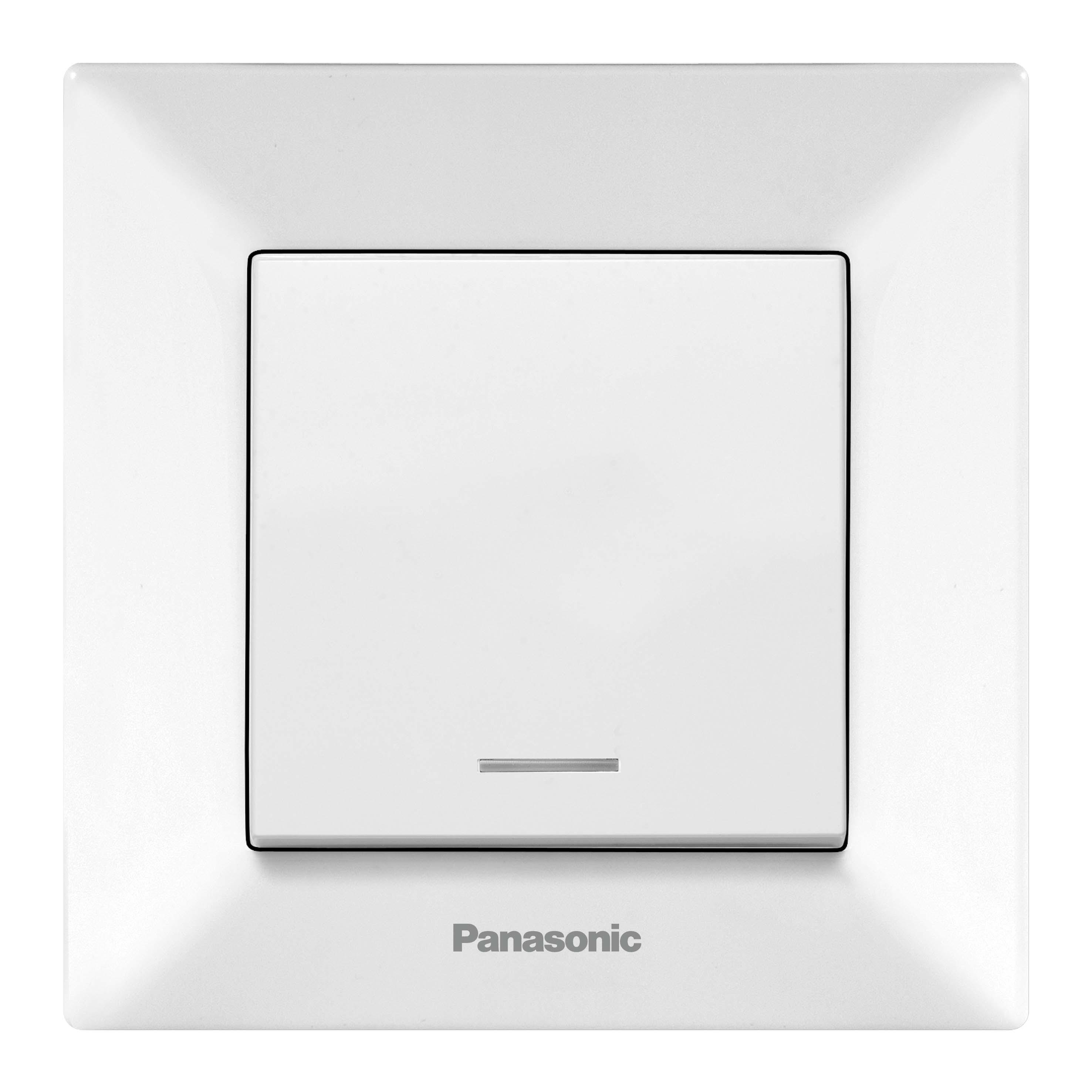Выключатель Panasonic Wmtc0002-2wh-res arkedia розетка panasonic wktf0809 2wh res arkedia