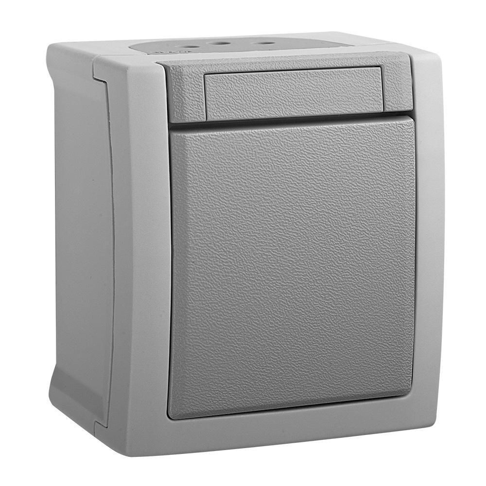 Выключатель Panasonic Wptc4001-2gr-res pacific
