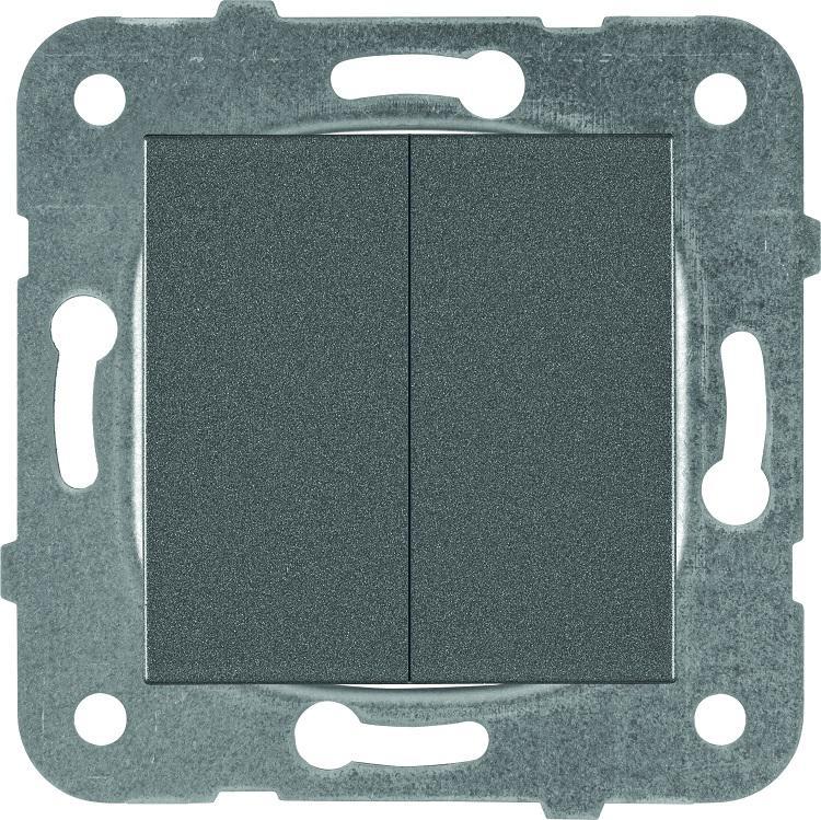 Механизм выключателя Panasonic Wktt0009-2dg-res karre plus