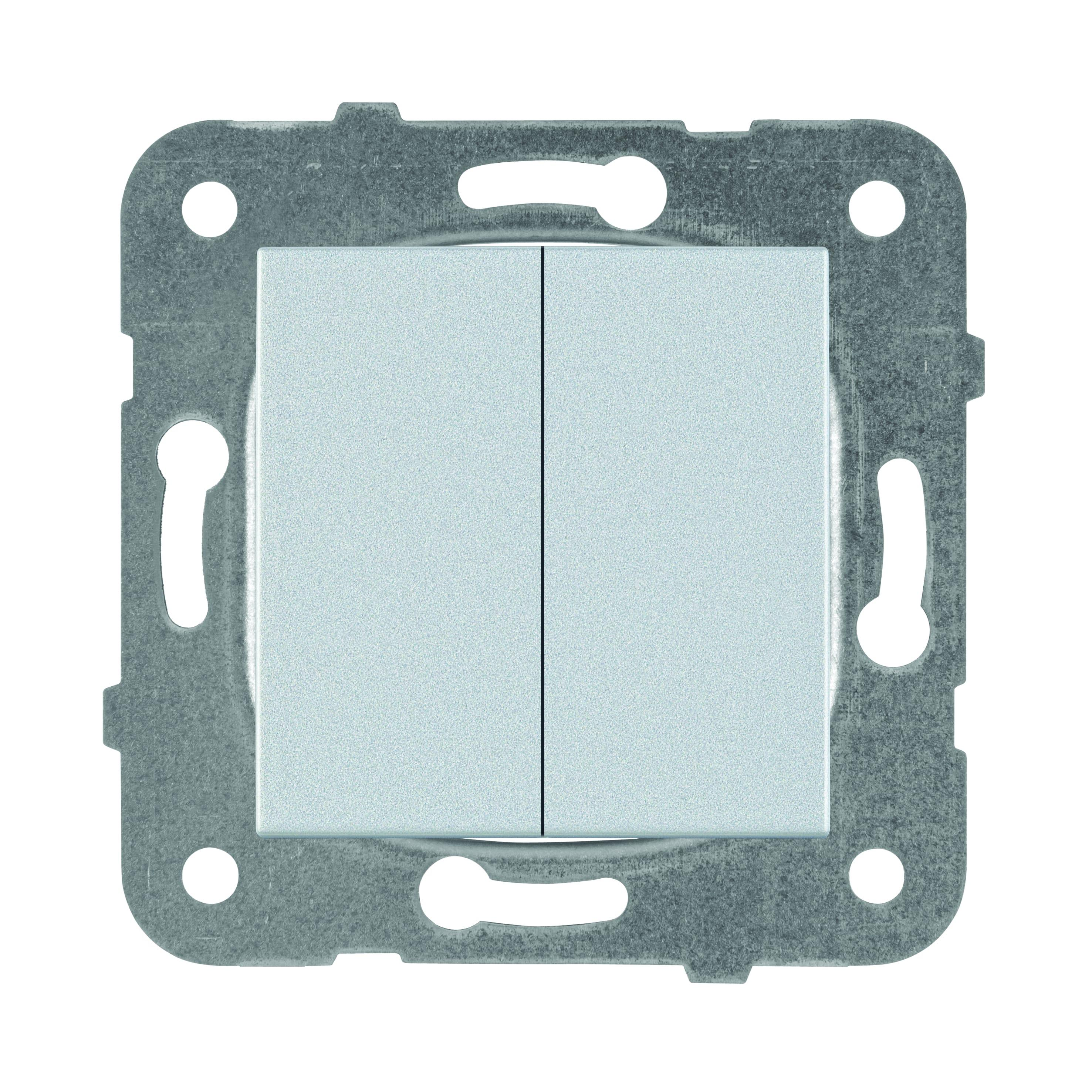 Механизм выключателя Panasonic Wktt0009-2sl-res karre plus
