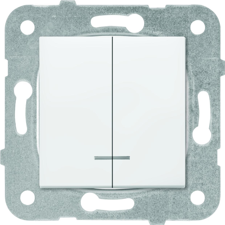 Механизм выключателя Panasonic Wktt0010-2wh-res karre plus