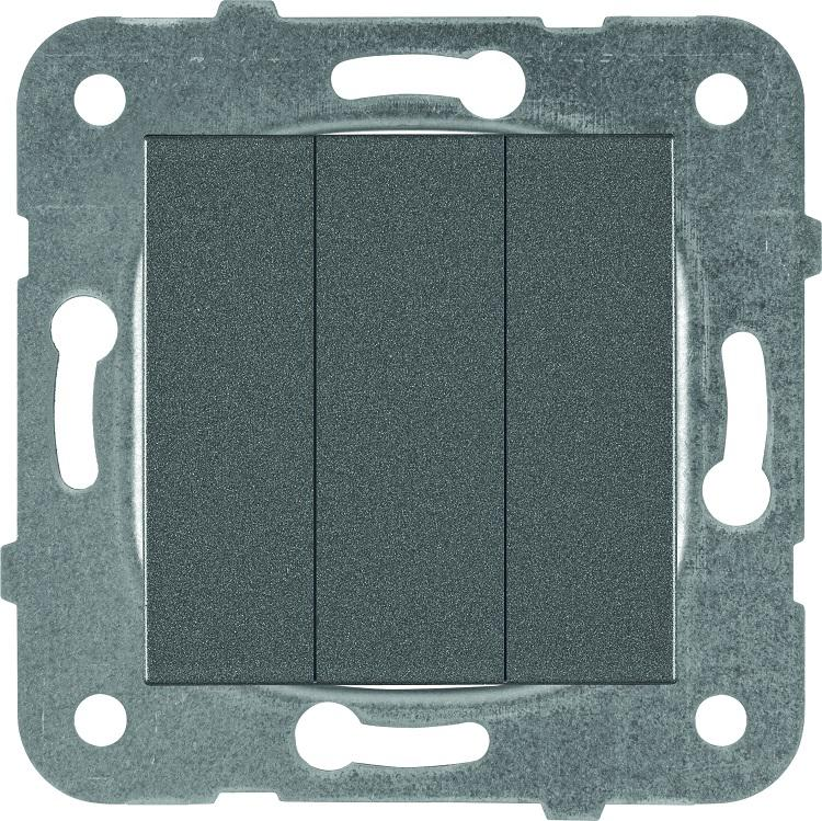 Механизм выключателя Panasonic Wktt0015-2dg-res karre plus