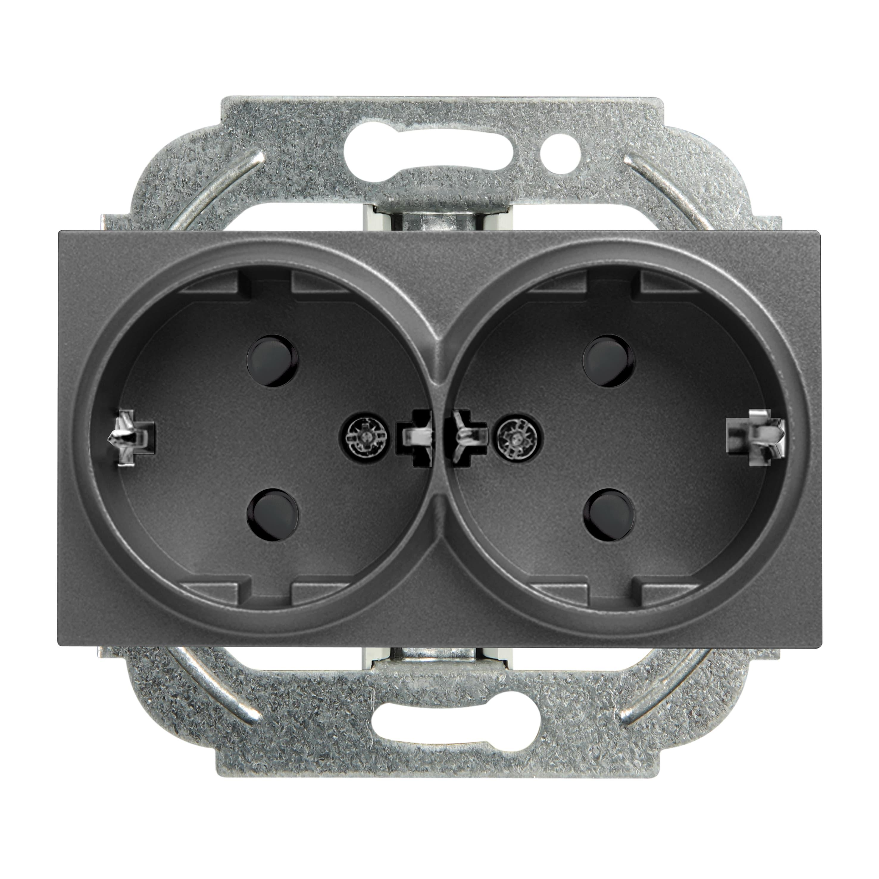 Механизм розетки Panasonic Wktt0205-2dg-res karre plus