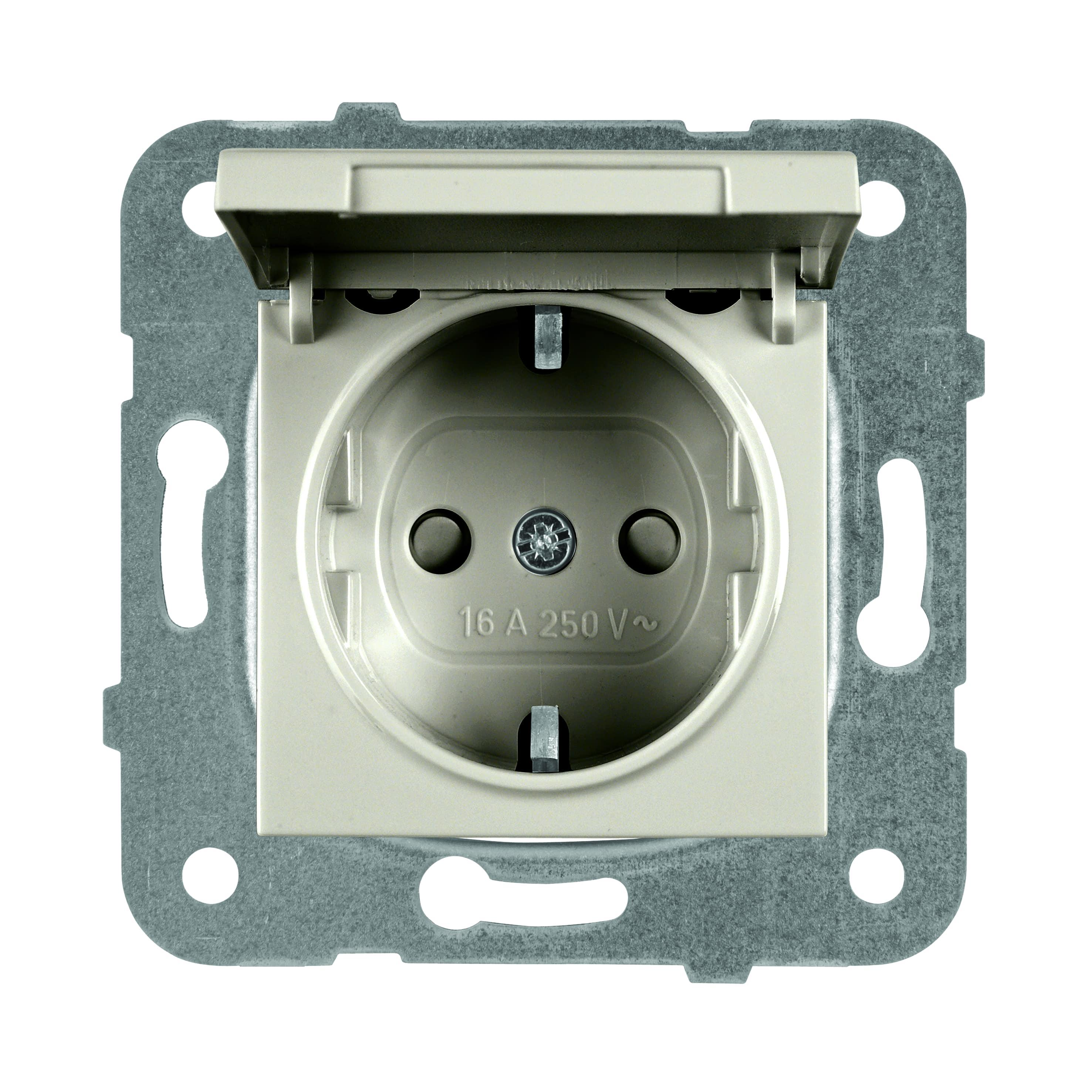 Купить Механизм розетки Panasonic Wktt0210-2br-res karre plus