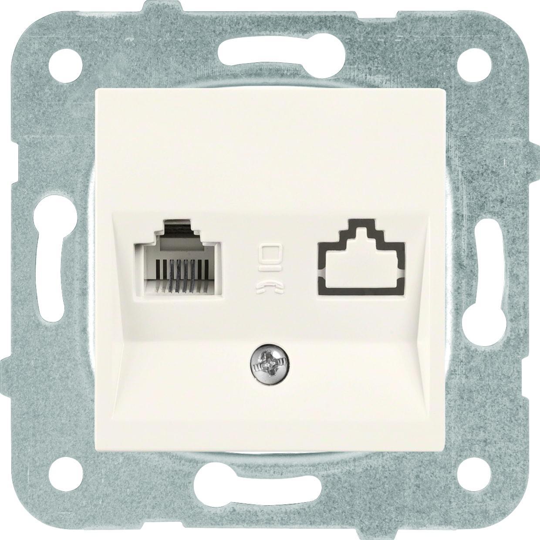Купить Механизм розетки Panasonic Wktt0402-2bg-res karre plus